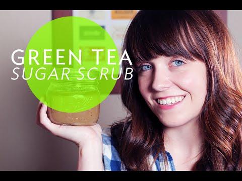 DIY GREEN TEA SUGAR SCRUB | Broke But Bougie