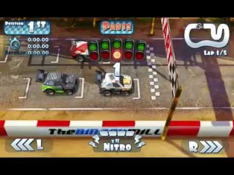 Mini Motor Racing Android Gameplay