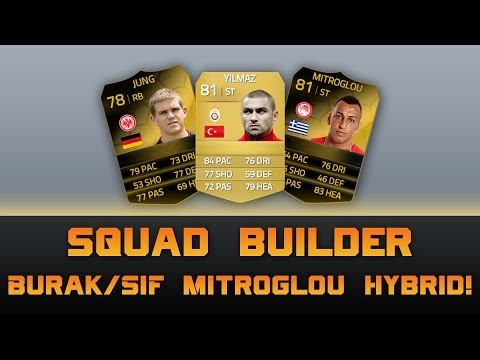 Fifa 14 Squad Builder | Burak/SIF Mitroglou Hybrid! feat. TWO IN FORMS!