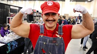 SoCal Retro Gaming Expo 2019 - Free Play Arcade Overload / Video Game Convention / Cosplay and More
