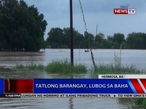 NTVL: Tatlong barangay, lubog sa baha