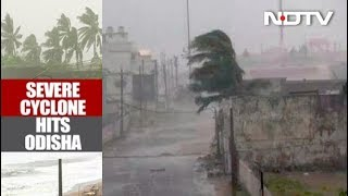 Cyclone Titli Hits Odisha Coast, Trees Uprooted; Flights, Trains Affected