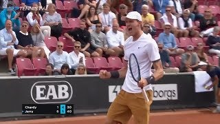Classy Nicolas Jarry Shots In Win Over Chardy | Swedish Open Bastad 2019