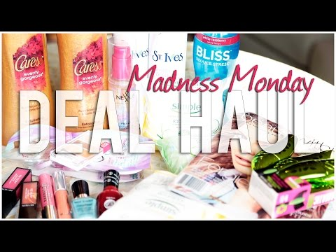 DRUGSTORE DEAL HAUL | Madness Monday