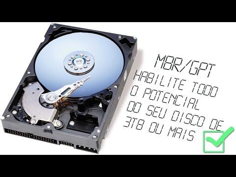 Converter Hd de 3 TB ou mais de MBR/GPT Rápido e Fácil