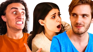 KWEBBELKOP REACTS TO AZZYLAND REACTS TO PEWDIEPIE REACTING TO AZZYLAND!