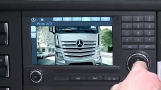 Der neue MB Actros MP4 (7/23) : Radio- und Soundsystem   -   Video ..........Oeni