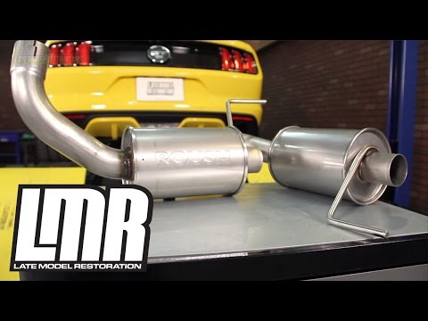 Mustang GT Roush Axleback Exhaust Review & Sound Clips (2015-2017 5.0L)