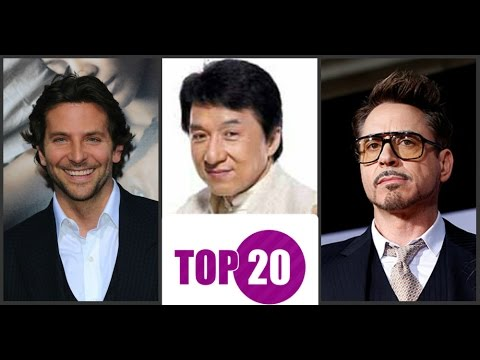 Самые высокооплачиваемые актеры мира 2015