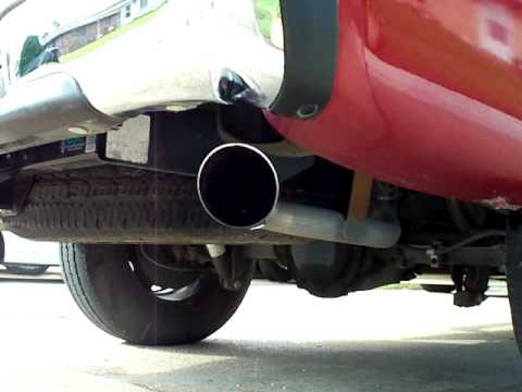 silverado 4.3l v6 exhaust flowmaster 40