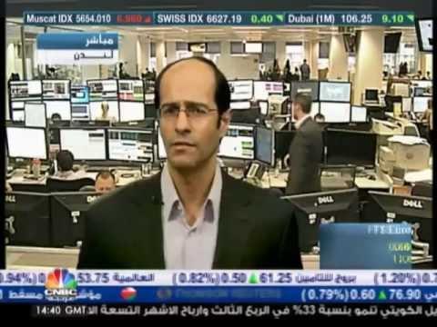 أشرف العايدي على سي ان بي سي عربية -- 24 اكتوبر 2012 Chart