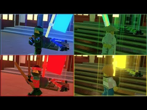 The Lego Ninjago Movie Video Game Multiplayer First Look (with Bots)