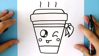 HOW TO DRAW A CUTE DRINK
