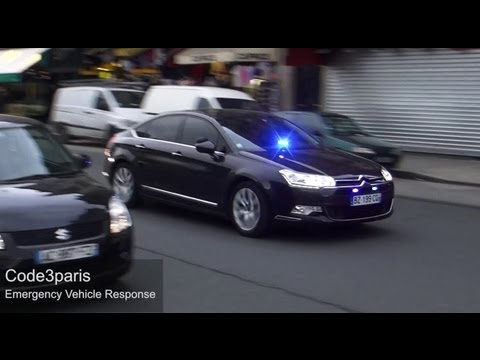 Unmarked Police Cars - Paris // Voitures de police banalisées (collection)