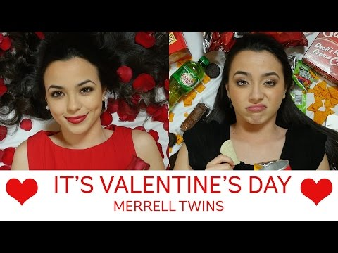 It's Valentine's Day Song - Merrell Twins