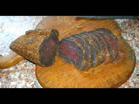Как завялить мясо лося в домашних условиях