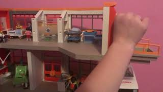 Baby Noah goes home ( ep 3 play mobile city life children's hospital )