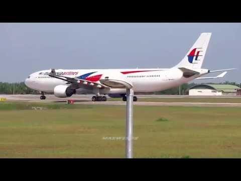 [FULLHD]Malaysia Airlines Airbus A330-323 9M-MTC Takeoff Kuala Lumpur