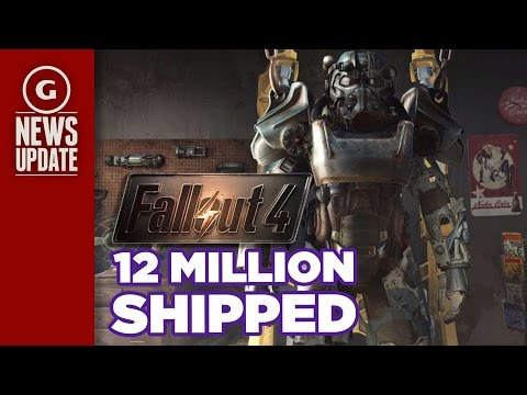 Fallout 4 Ships 12 Million in One Day - GS News Update