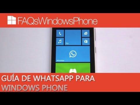 Guía de WhatsApp para Windows Phone en español   FAQsWindowsPhone.com