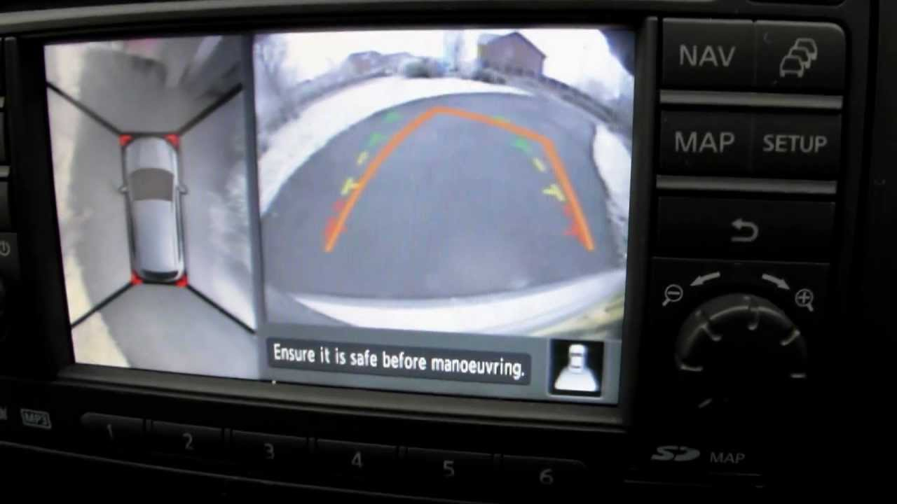 Car Surround View Cameras  Nissan
