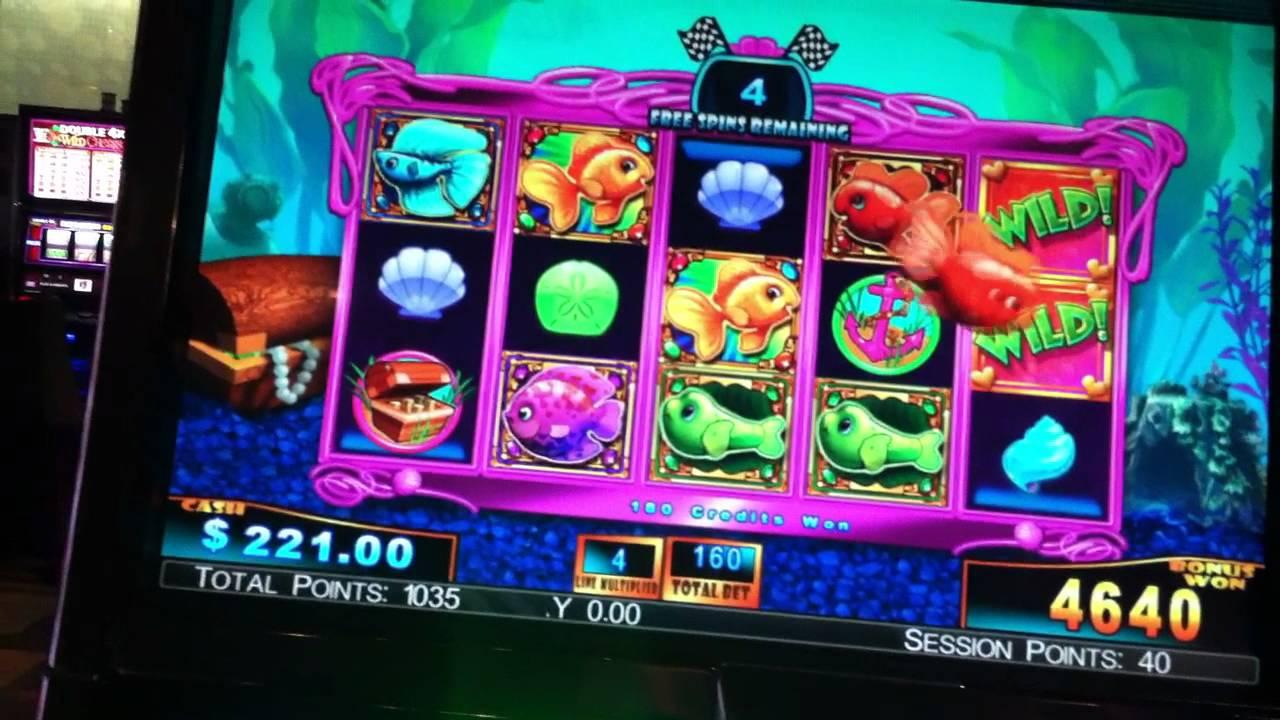 goldfish 3 video slot machine