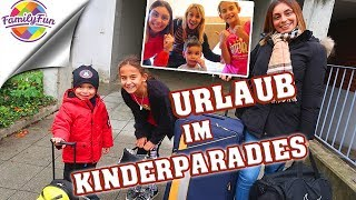 URLAUB im KINDERPARADIES  - ROOMTOUR & ABENTEUER Kinderhotel - Family Fun on Tour