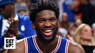 How will the Nets respond in Game 3 to Joel Embiid elbowing Jarrett Allen? | Get Up!