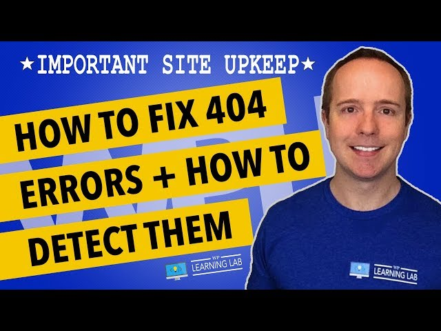 How To Fix 404 Error In WordPress - How To Fix 404 Page Not Found Errors thumbnail
