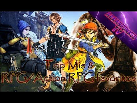 Top: Mis 8 RPG/Action RPG favoritos