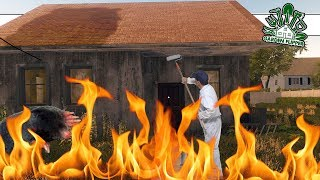 Can We Sell A Burned House With a Mole Problem? | House Flipper