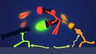 INTENSE STICK FIGHTING GAME!? (Stick Fight)