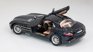 Mercedes-Benz SLR McLaren customize by MotorMax 1:24