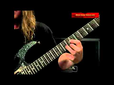 Mr Scary Song By George Lynch Live Webcast Guitar Lesson