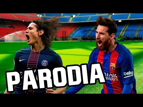 Deportes-Canción Barcelona - PSG 6-1 (Parodia Enrique Iglesias -Subeme la radio)