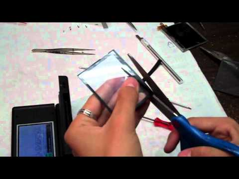 How to Fix/Repair NDSL/DS Lite Top/Upper LCD Screen 3/3
