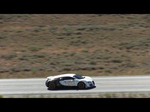 1200 HP Bugatti Veyron Super Sport Pur Blanc hits 246.4 MPH!!
