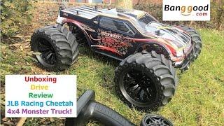 JLB Racing CHEETAH 1/10 Brushless RC Car Monster Truck 11101 RTR