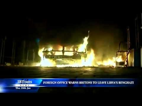 Foreign Office warns Britons to leave Libya's Benghazi