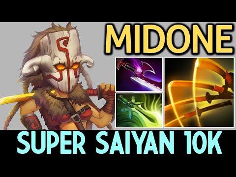 MidOne [Juggernaut] Super Saiyan 10k MMR 7.14 Dota 2