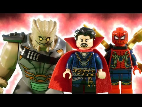 LEGO AVENGERS INFINITY WAR PART 5 - SANCTUM SANCTORUM SHOWDOWN - MARVEL STOP MOTION