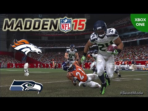 Thumbnail image for ''Madden NFL 15' Gameplay Video: Broncos vs. Seahawks - Super Bowl (Xbox One)'