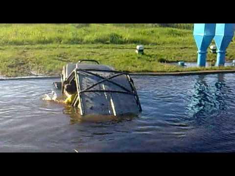 Suzuki samurai 4x4 vízátkelési kísérlet