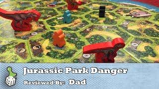 Board Game Review: Jurassic Park Danger!