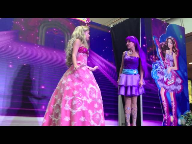 Barbie Princess Popstar Live Show