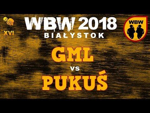 Bitwa GML Vs PUKUŚ # WBW 2018 Białystok (1/8) # Freestyle Battle
