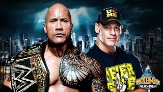 Wrestlemania 29: The Rock vs John Cena Promo