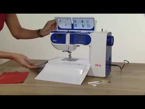 Elna Lotus Sewing Machine Demonstration