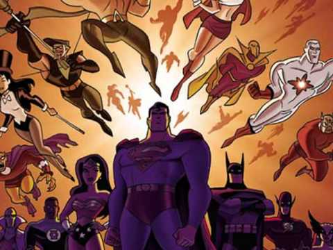 Justice League Unlimited - Full Theme (HQ)