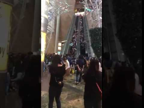 Video At least 17 hurt as Hong Kong escalator suddenly stops